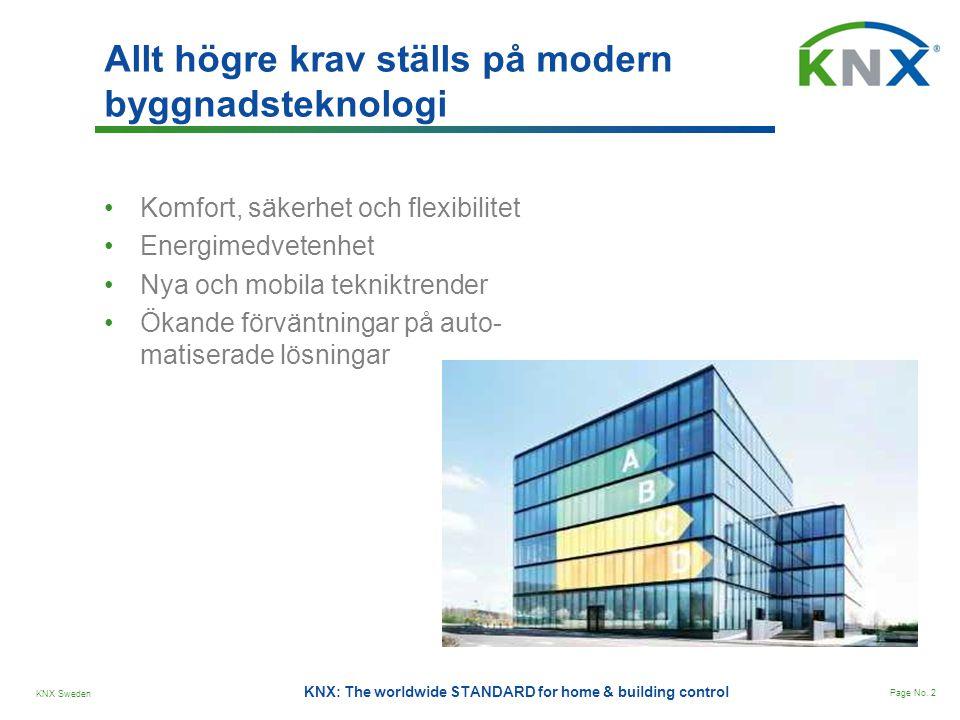 Allt högre krav ställs på modern byggnadsteknologi