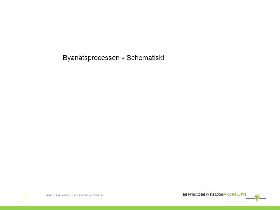 Byanätsprocessen - Schematiskt