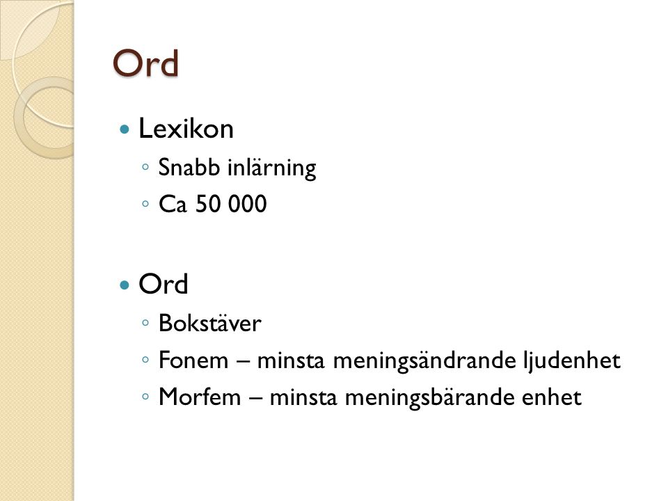 Ord Lexikon Ord Snabb inlärning Ca 50 000 Bokstäver