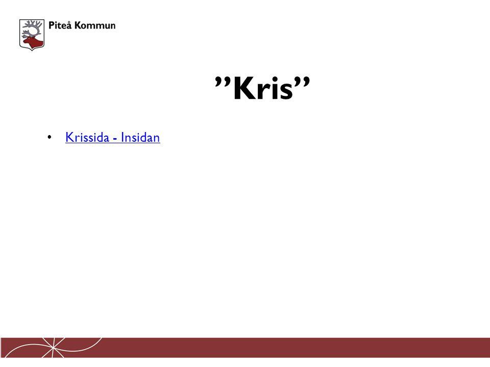 Kris Krissida - Insidan
