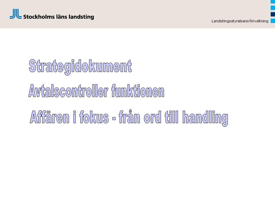 Avtalscontroller funktionen