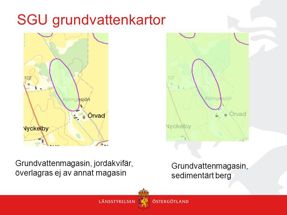 SGU grundvattenkartor