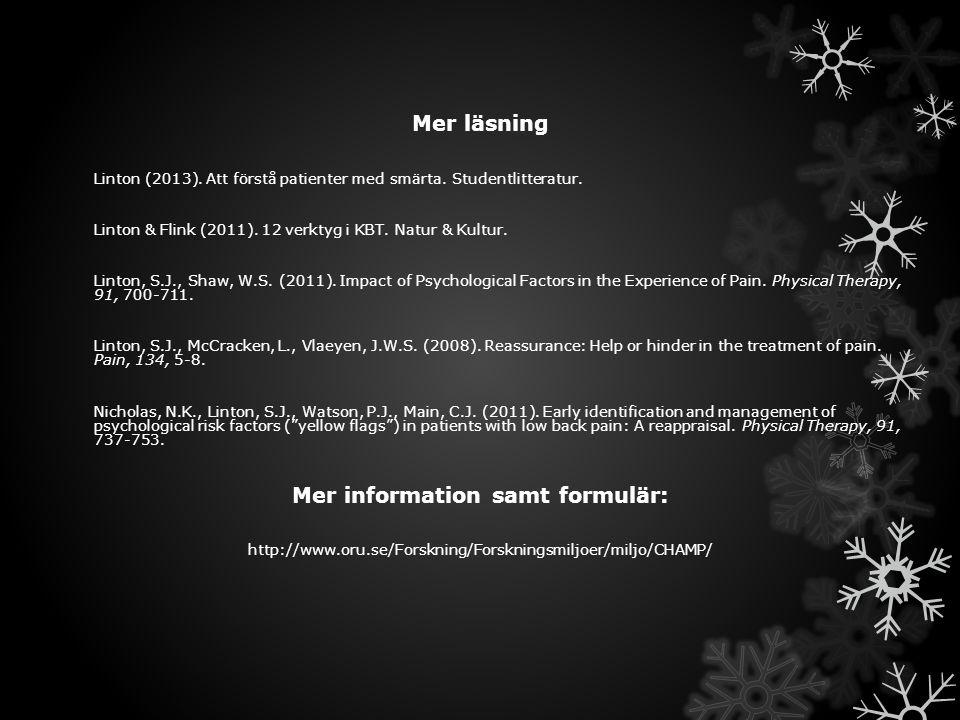 Mer information samt formulär: