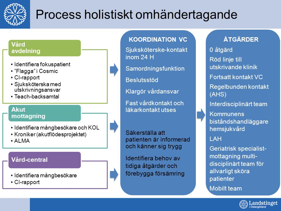 Process holistiskt omhändertagande