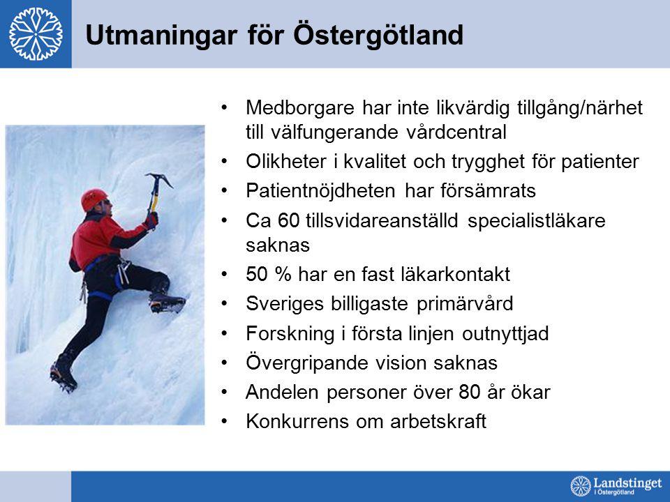 Utmaningar för Östergötland