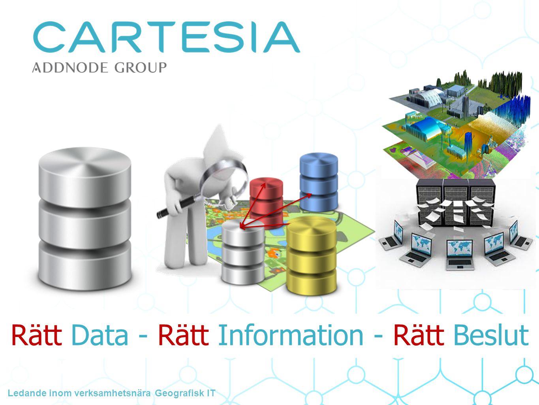 Rätt Data - Rätt Information - Rätt Beslut