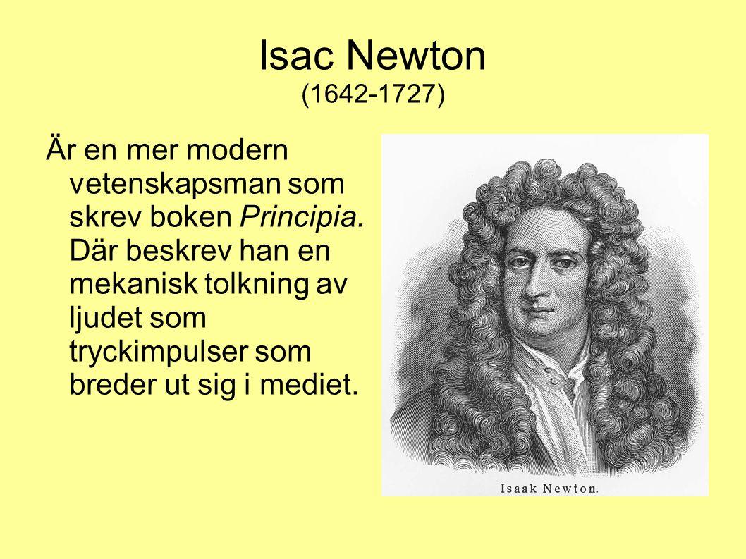 Isac Newton (1642-1727)