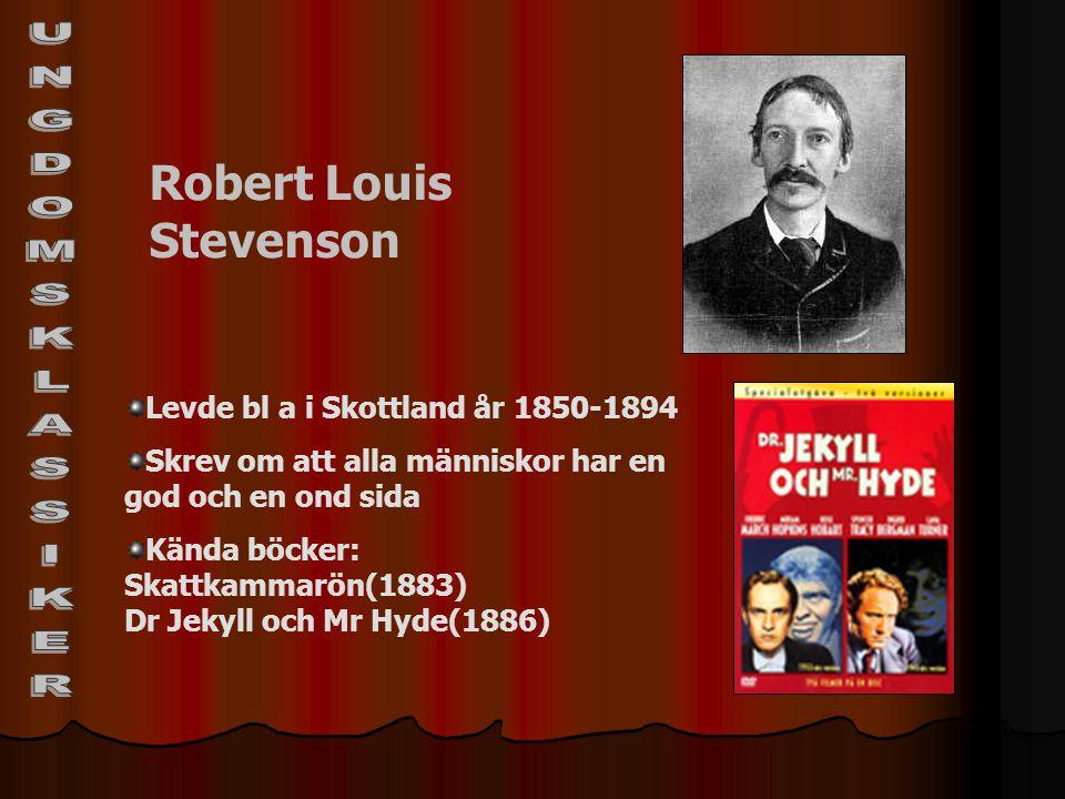 UNGDOMSKLASSIKER Robert Louis Stevenson