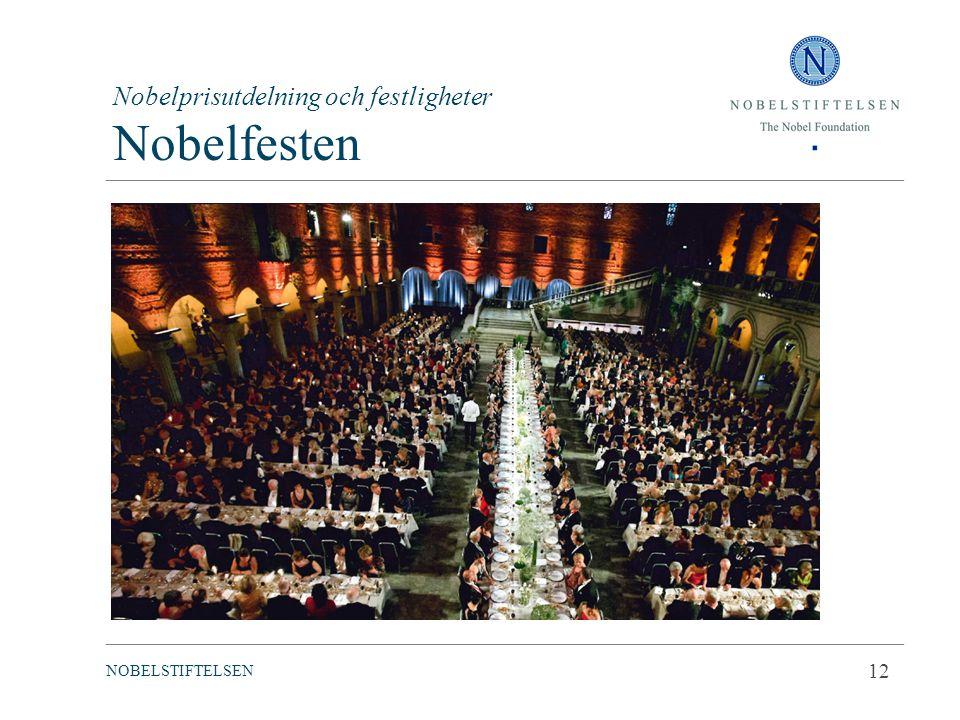 Nobelprisutdelning och festligheter Nobelfesten