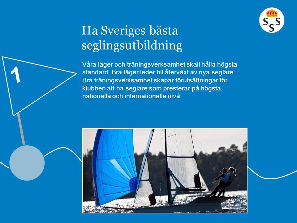 Ha Sveriges bästa seglingsutbildning