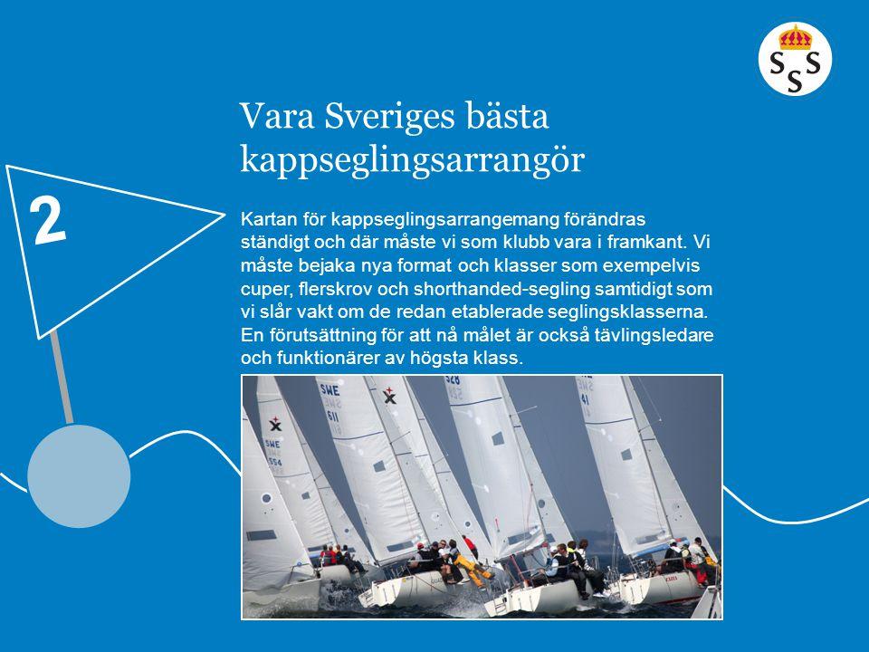 Vara Sveriges bästa kappseglingsarrangör