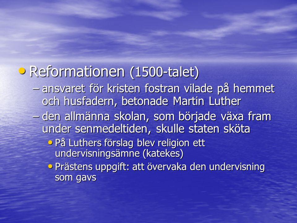 Reformationen (1500-talet)