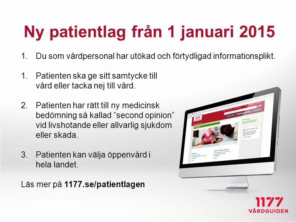 Ny patientlag från 1 januari 2015