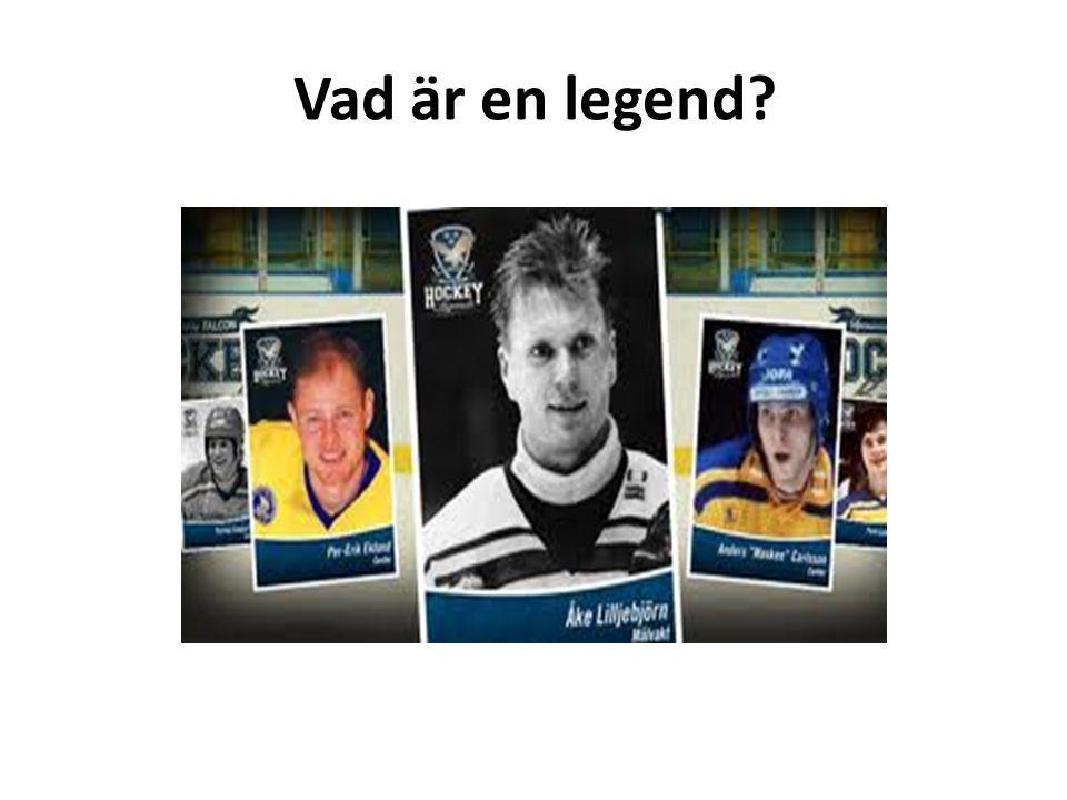 Vad är en legend