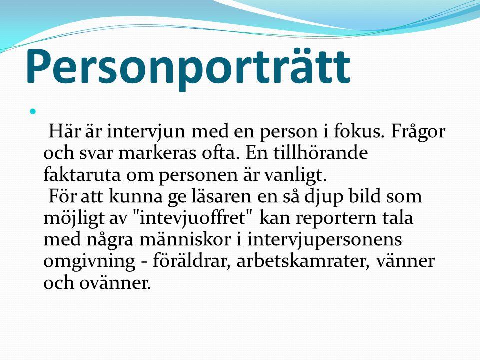 Personporträtt