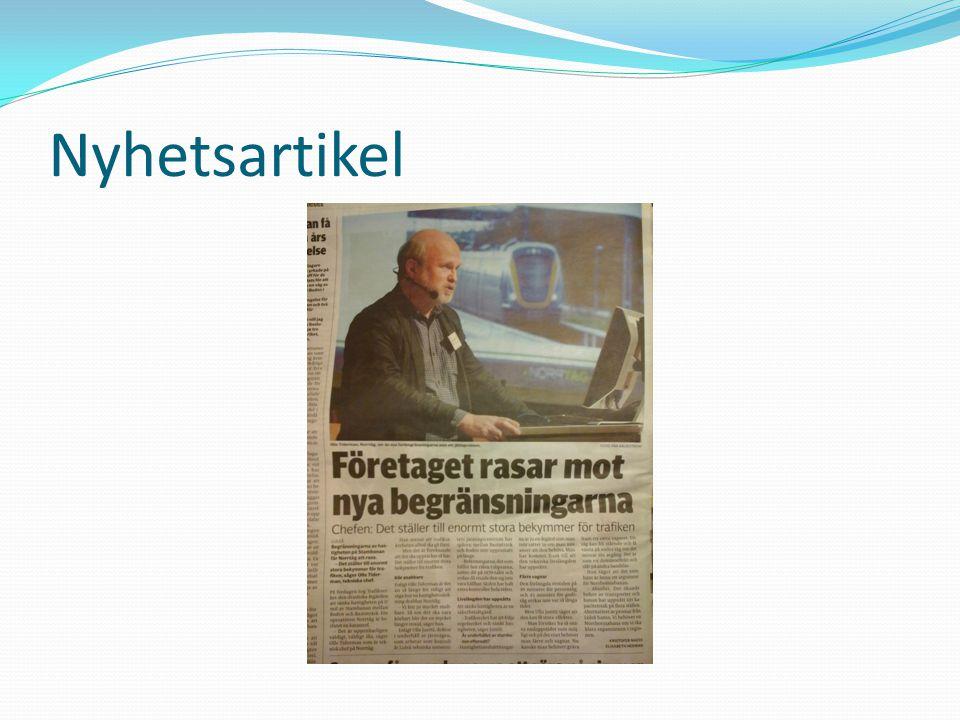 Nyhetsartikel