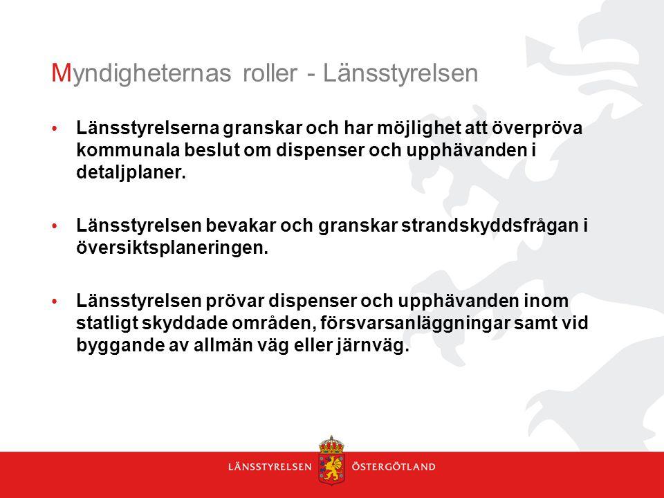 Myndigheternas roller - Länsstyrelsen