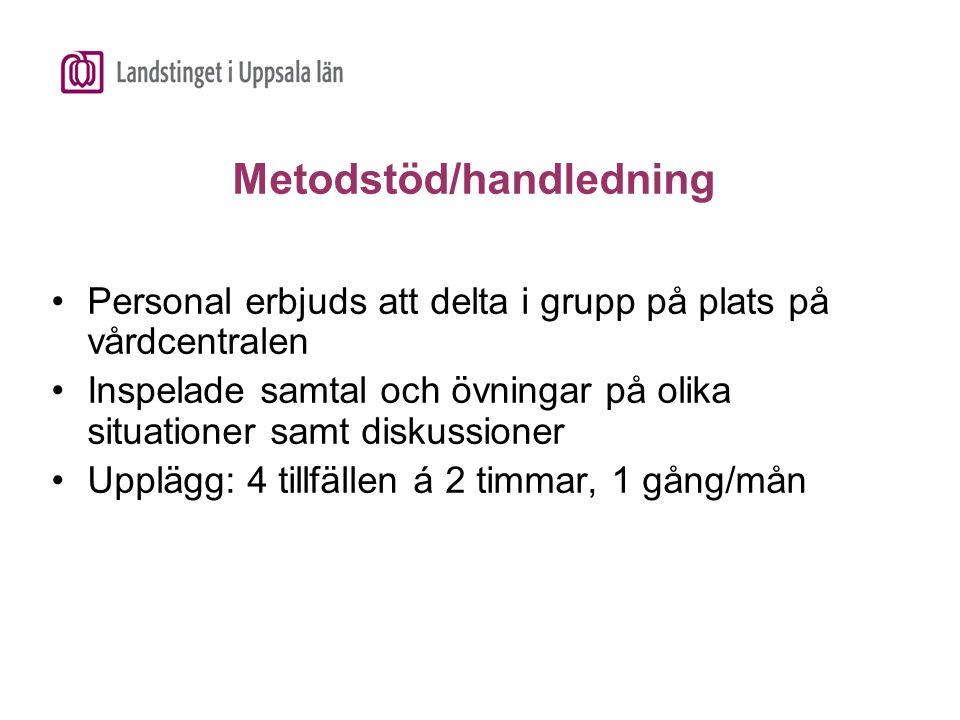Metodstöd/handledning