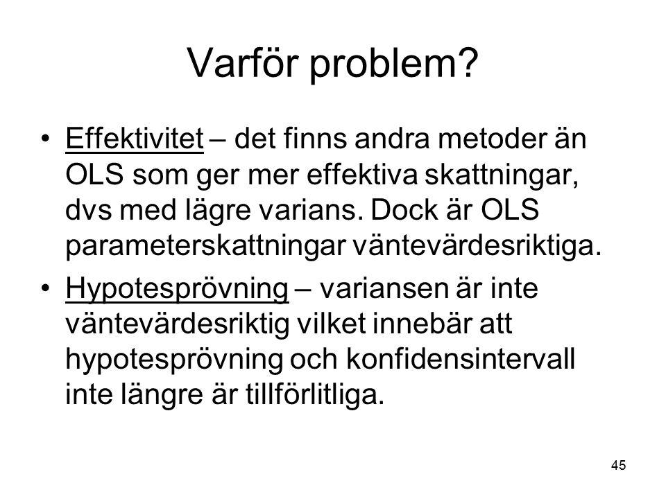 Varför problem