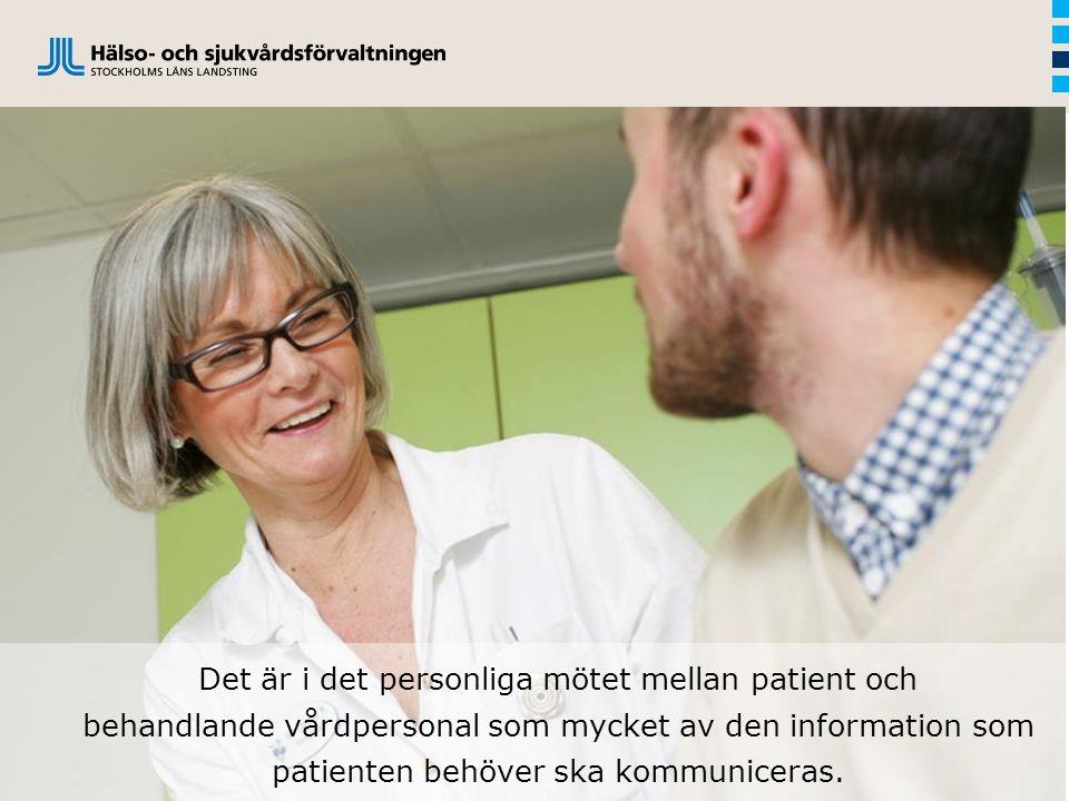 Som en följd av den snabba medicinska utvecklingen, med exempelvis ökat antal behandlingsalternativ, har kraven på patientens delaktighet i det kliniska beslutsfattandet ökat.