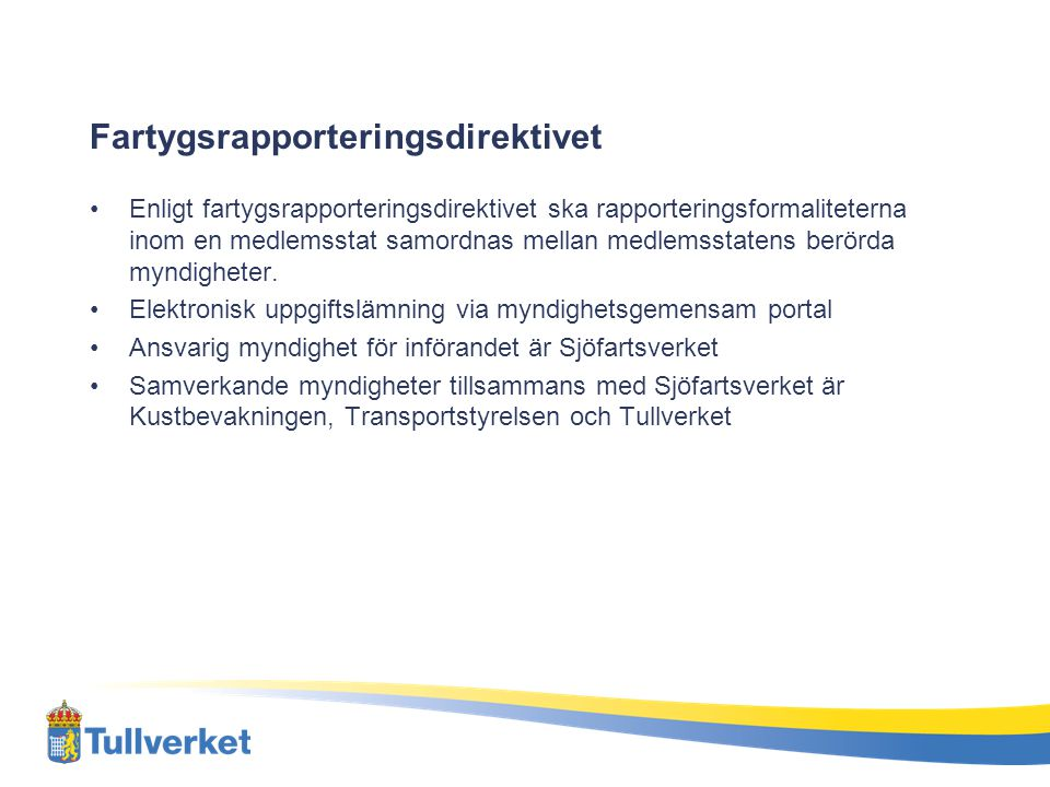 Fartygsrapporteringsdirektivet