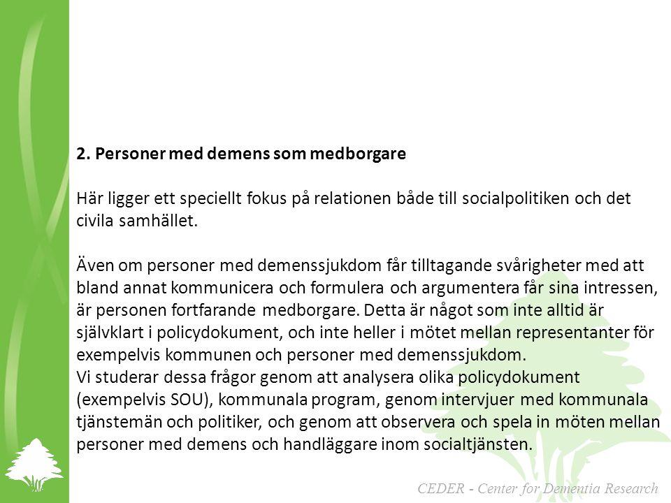 2. Personer med demens som medborgare