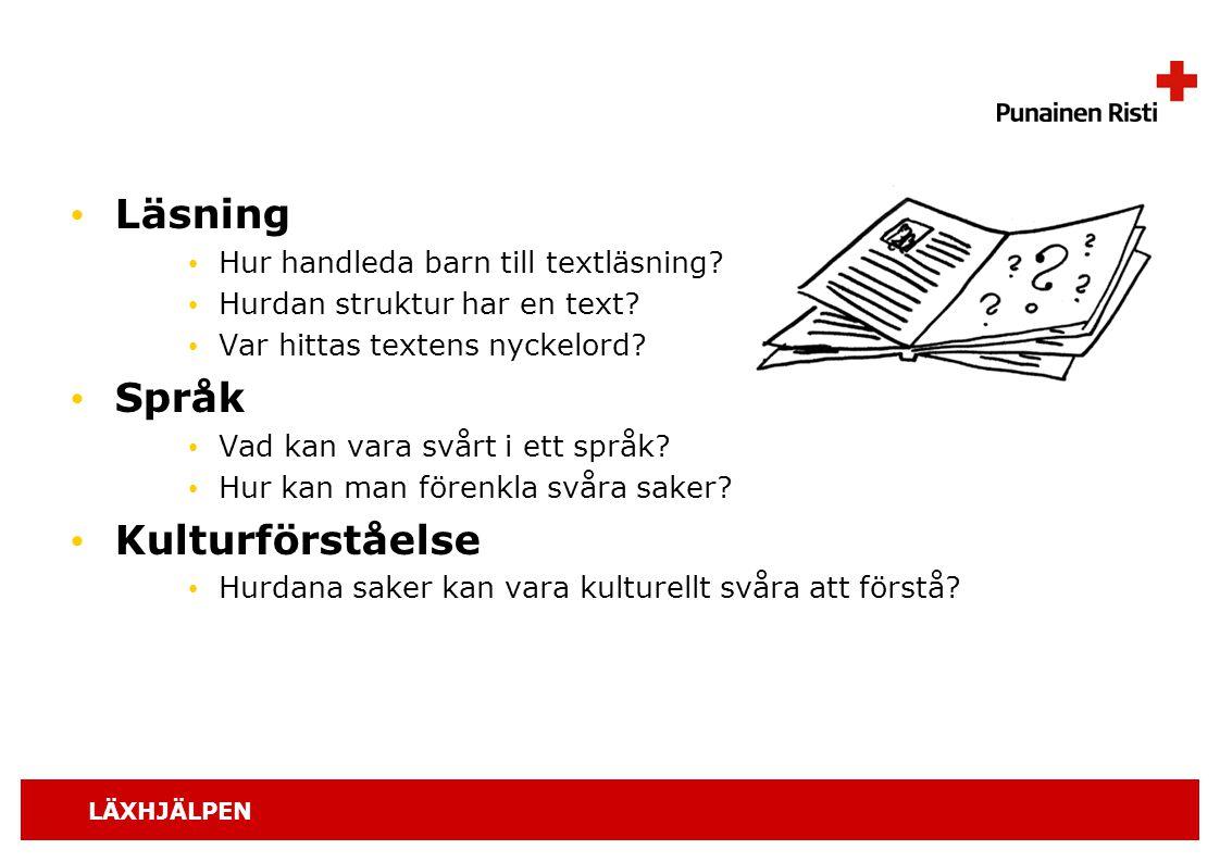 Läsning Språk Kulturförståelse Hur handleda barn till textläsning