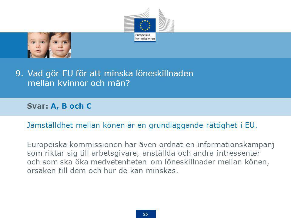Vad gör EU för att minska löneskillnaden mellan kvinnor och män