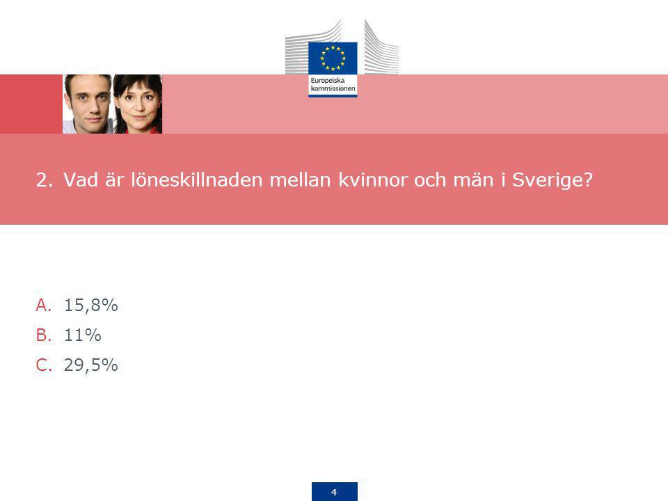 Vad är löneskillnaden mellan kvinnor och män i Sverige