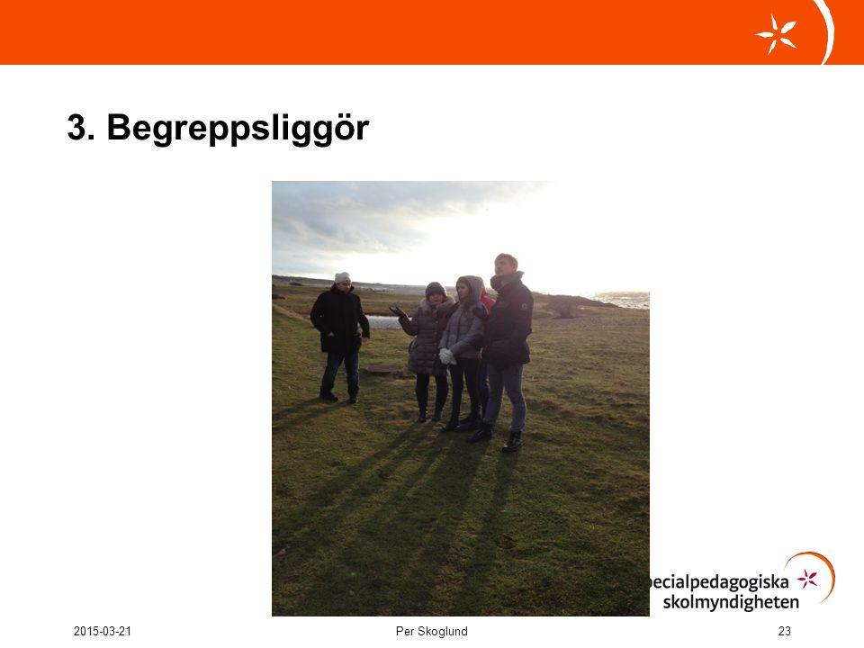 3. Begreppsliggör 2017-04-08 Per Skoglund