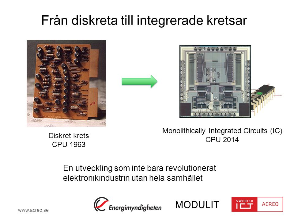 Monolithically Integrated Circuits (IC)