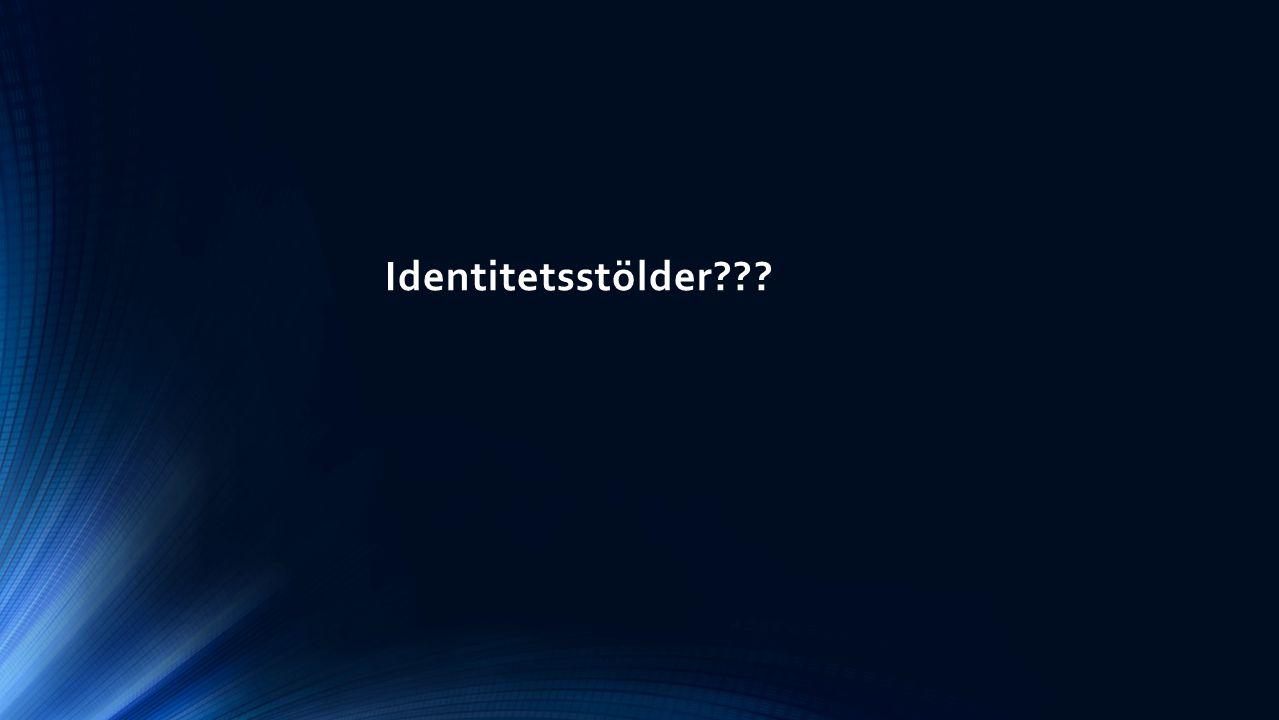 Identitetsstölder