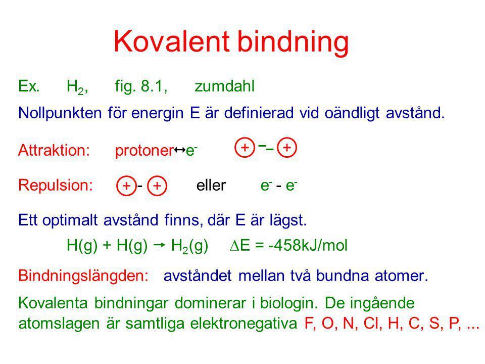 atomslagen är samtliga elektronegativa F, O, N, Cl, H, C, S, P, ...