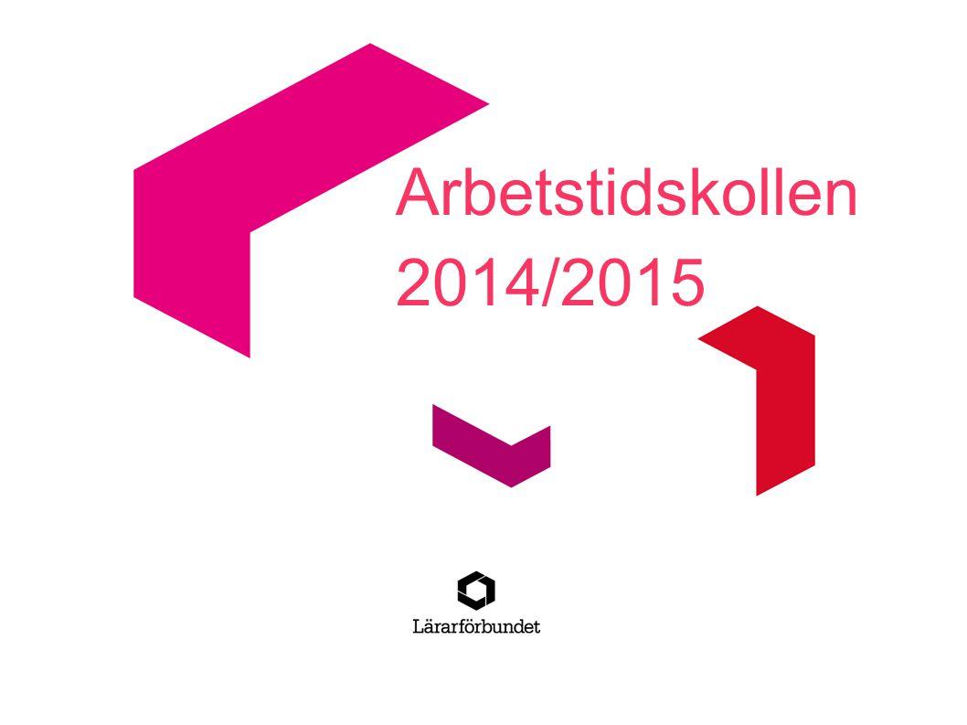 Arbetstidskollen 2014/2015