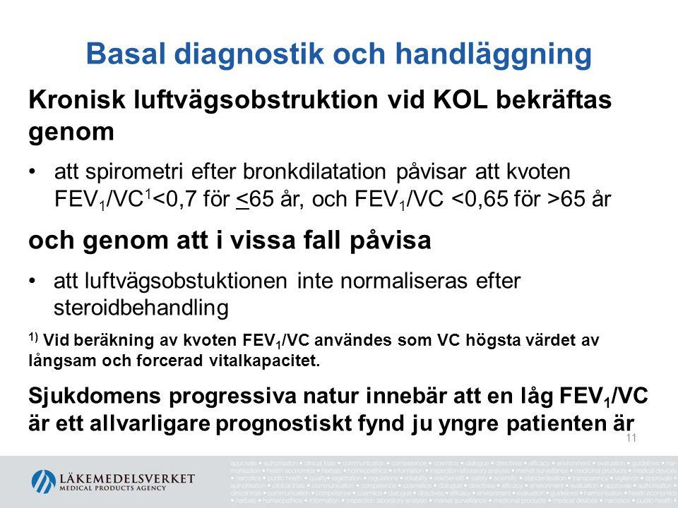 Basal diagnostik och handläggning