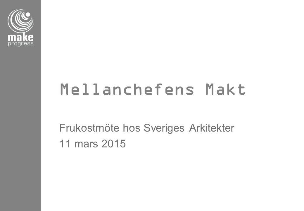 Frukostmöte hos Sveriges Arkitekter 11 mars 2015
