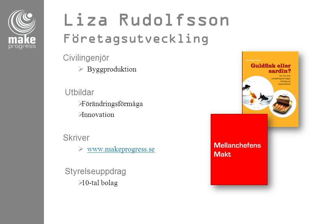 Liza Rudolfsson Företagsutveckling