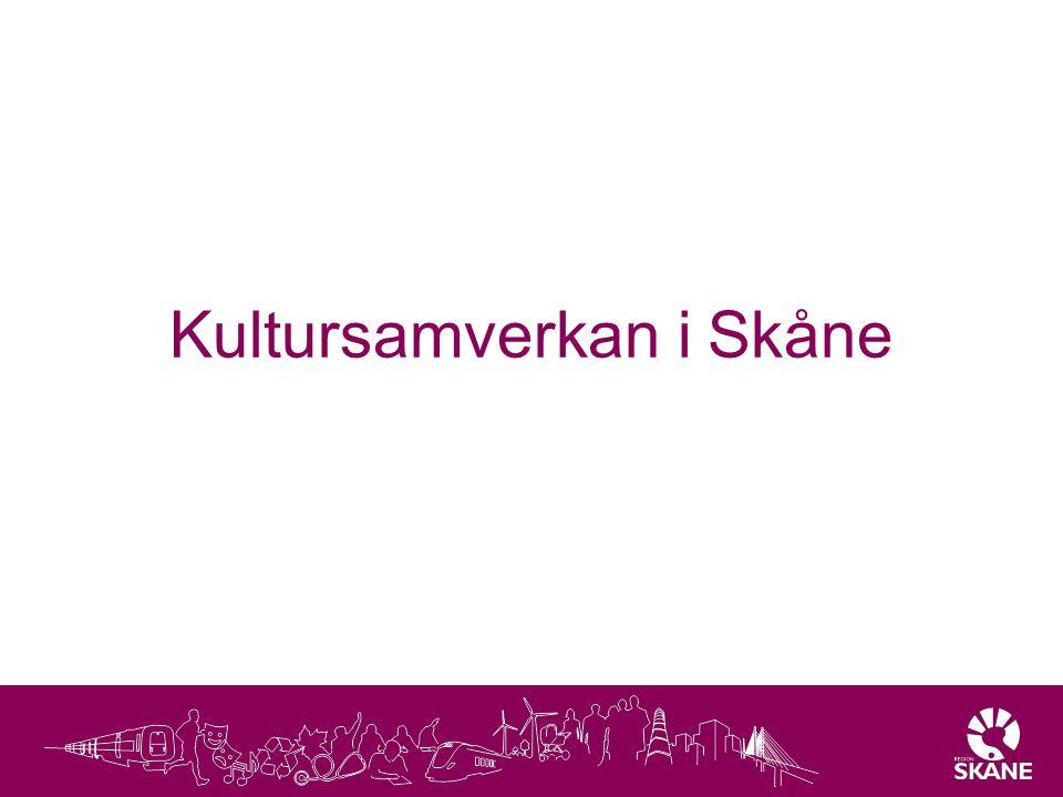 Kultursamverkan i Skåne
