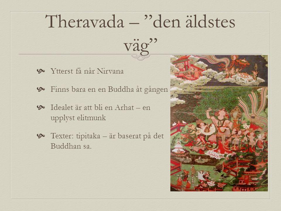 Theravada – den äldstes väg