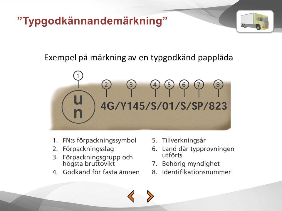 Typgodkännandemärkning