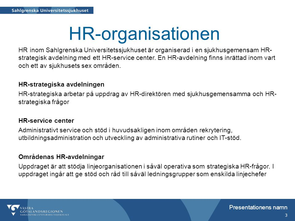 HR-organisationen