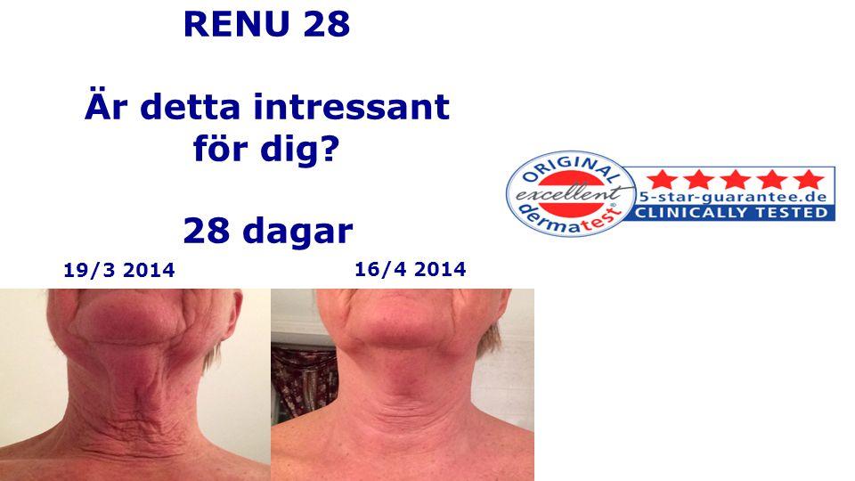 RENU 28 Är detta intressant för dig 28 dagar