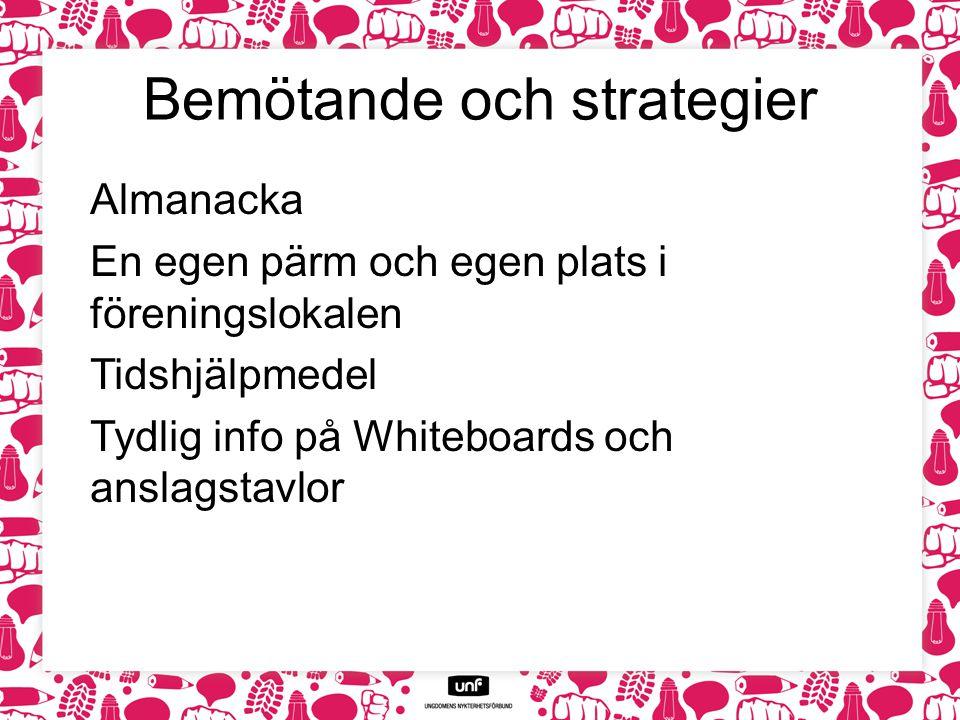 Bemötande och strategier
