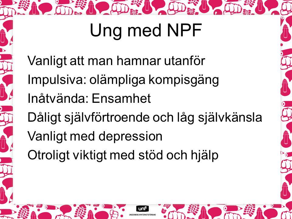 Ung med NPF
