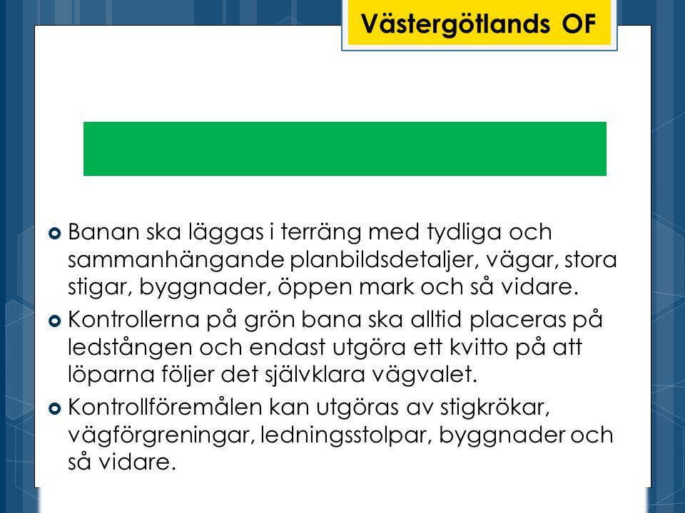 Grön bana Västergötlands OF