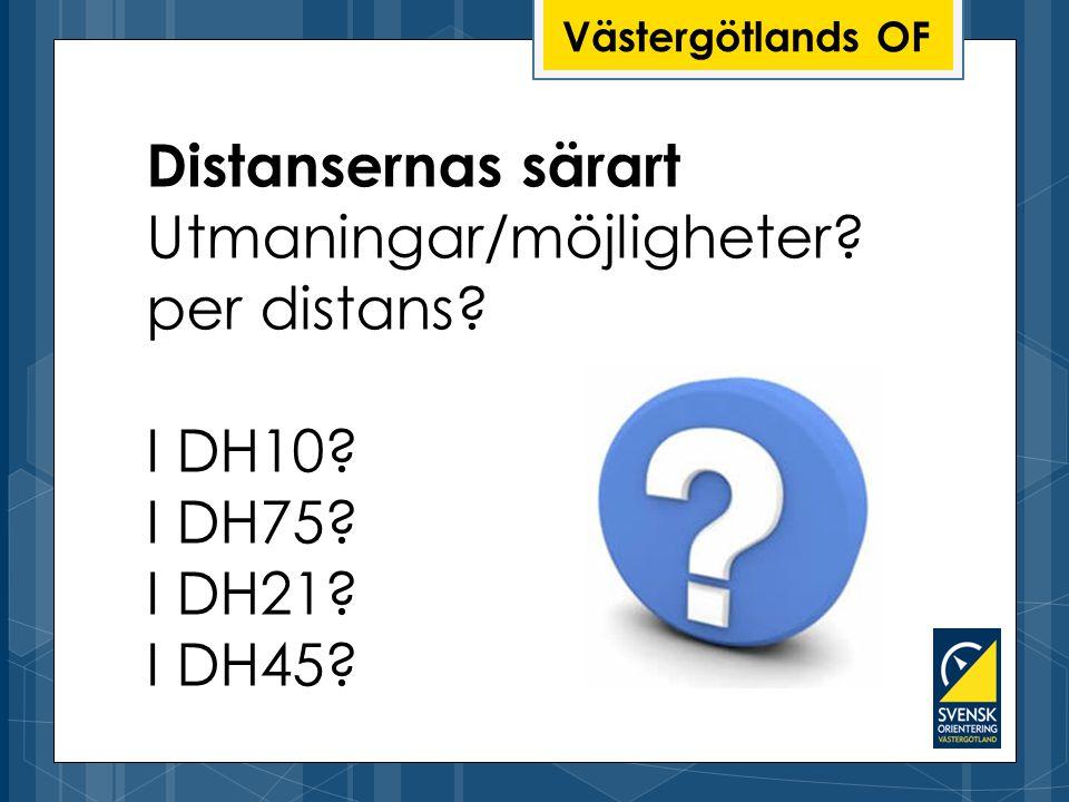 Utmaningar/möjligheter per distans I DH10 I DH75 I DH21 I DH45