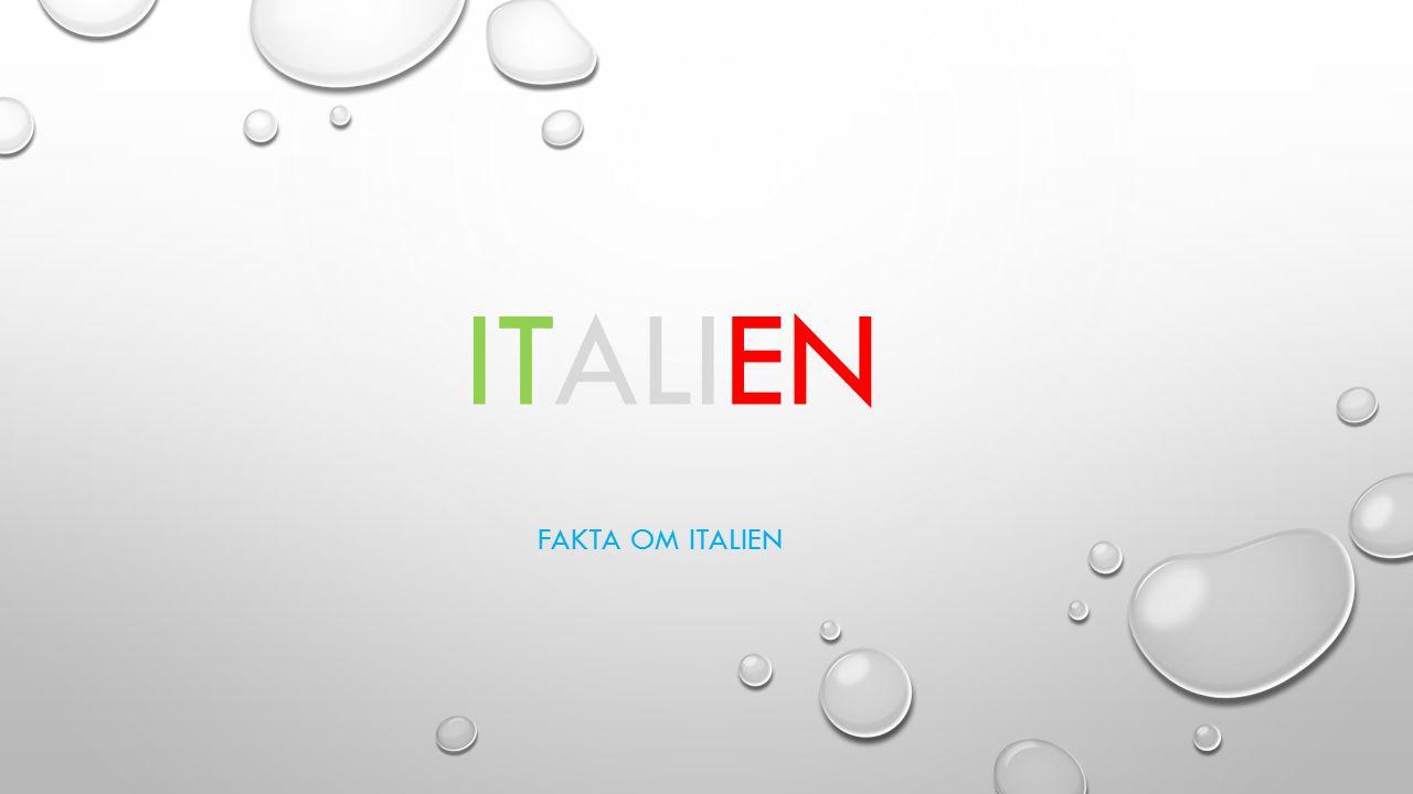 Italien Fakta om italien