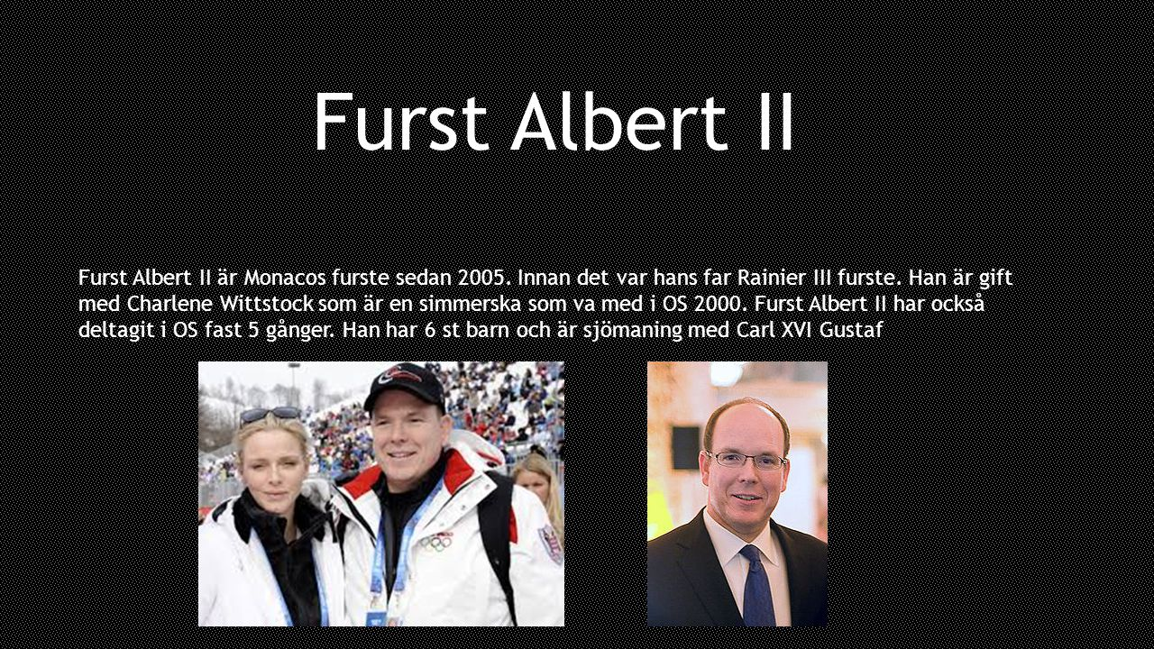 Furst Albert II