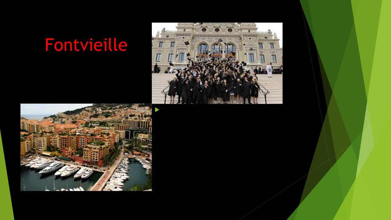Fontvieille Fontvieille ligger sydväst om Monaco-Ville och Monte Carlo och söder om La Condamine.
