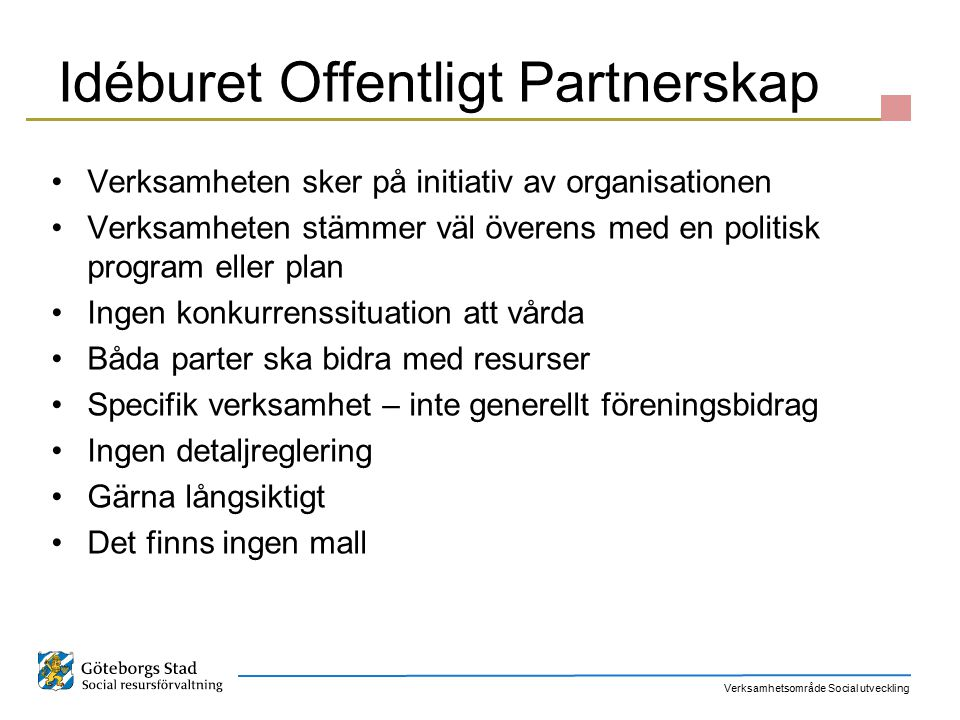 Idéburet Offentligt Partnerskap